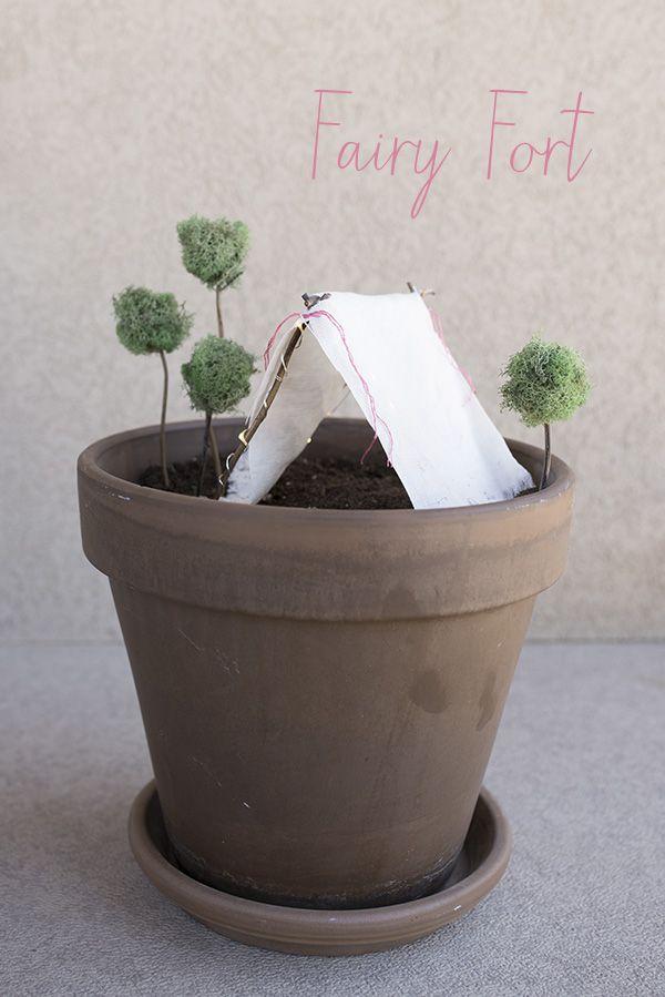 Nurture child's imagination - Make a Fairy Fort together