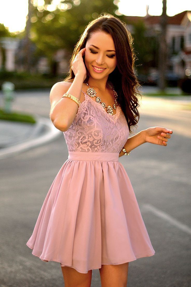 A-Line Spaghetti Straps Short Purple Chiffon Homecoming Dress with ...