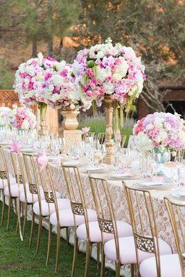 Tall Flower Arrangements To Inspire Your Wedding Centerpieces