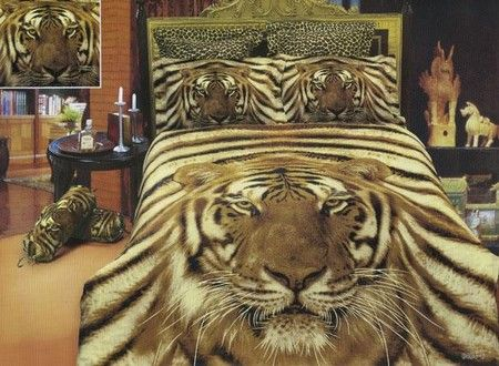 Siberian Tiger 6 Pc  FULL QUEEN SIZE Duvet Cover Bedding Set   Visit our  website at for more sizes and selections on Safari Decor at great prices. Cheetah Print Bedroom Ideas        com  Animal Prints   Making a