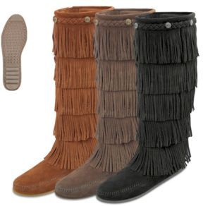 Moccasins, Boots, Slippers & Sandals. Minnetonka ...