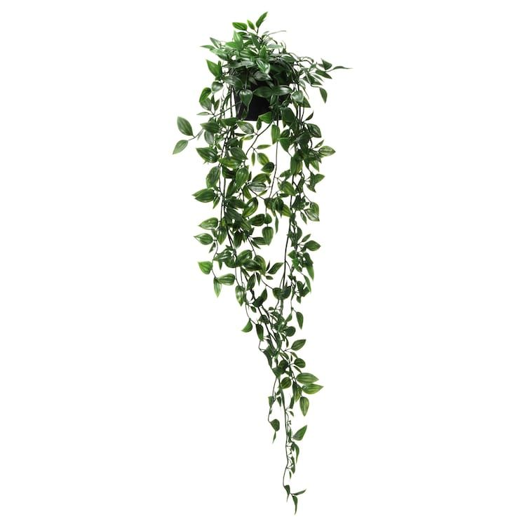 Fejka Artificial Potted Plant Indoor Outdoor Hanging Ikea Fake Hanging Plants Artificial Plant Arrangements Artificial Plant Wall