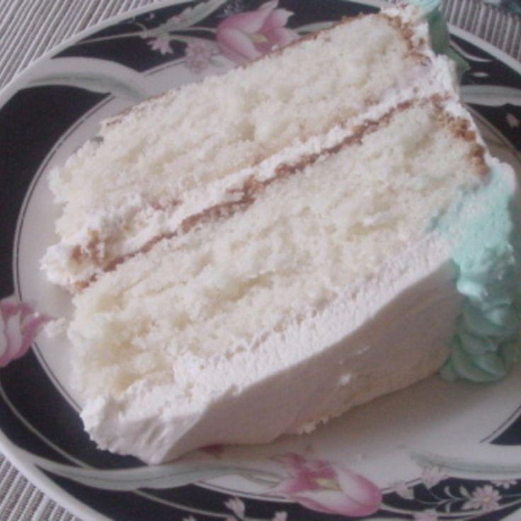 Super Moist White Cake