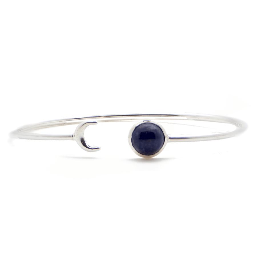 """Engagement d/'oreilles 925 Argent Massif Goutte Forme Bleu Marine Bleu Lapis Lazuli 1.3/"""""""