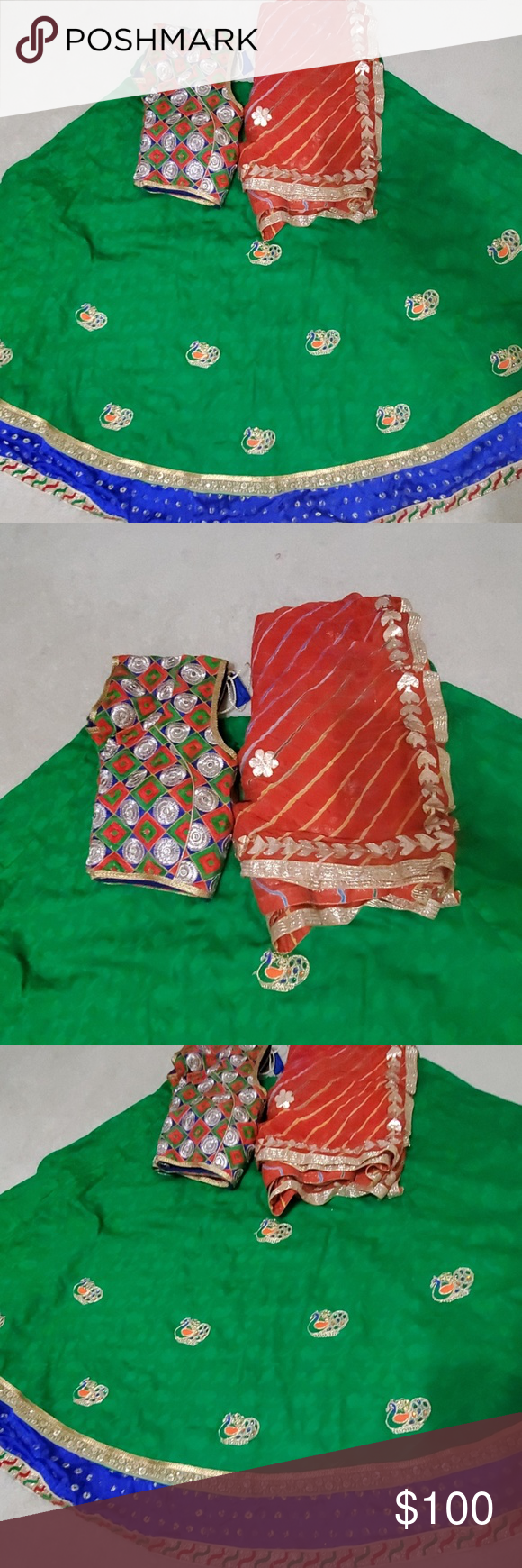 Chaniya choli Like new only wear once Other #chaniyacholi