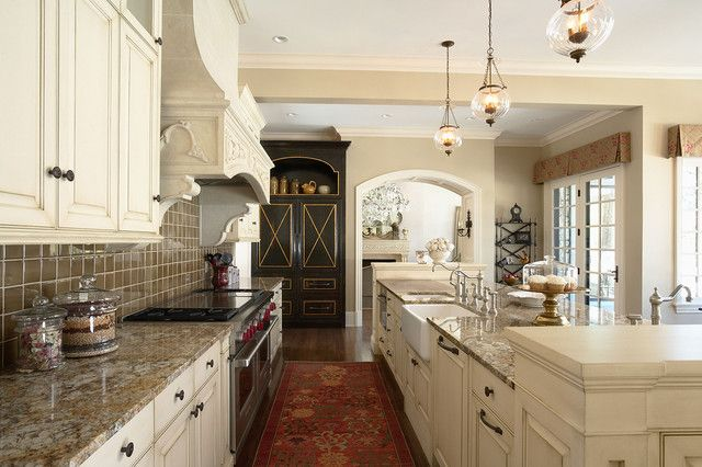 Elegantly Detailed Kitchen Work Area Traditional From Sherwin Williams Paint For Cabinets