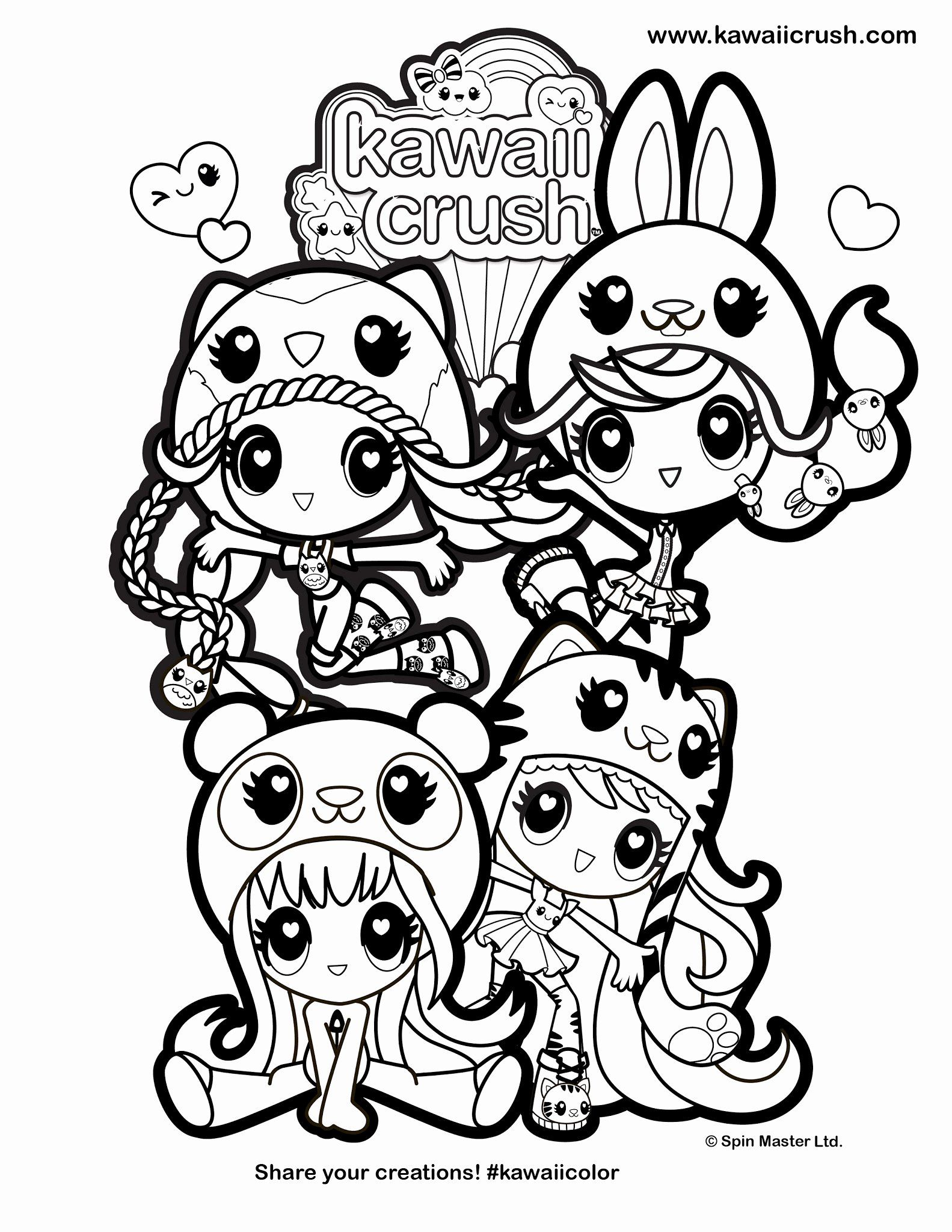 Anime Coloring Page Kawaii Beautiful Cute Anime Coloring Pages Fresh Coloring Pages Coloring M Disney Coloring Pages Cute Coloring Pages Unicorn Coloring Pages