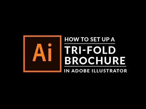 Adobe Illustrator Tutorial How To Create A Tri-fold Brochure