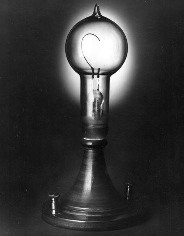Happy Birthday Thomas Edison Incandescent Lamp Light Bulb Bulb