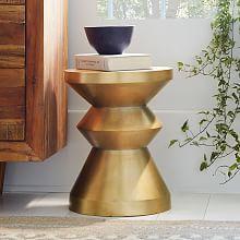Nolan Side Table Living Room Pinterest Living Room Tables - West elm gold side table