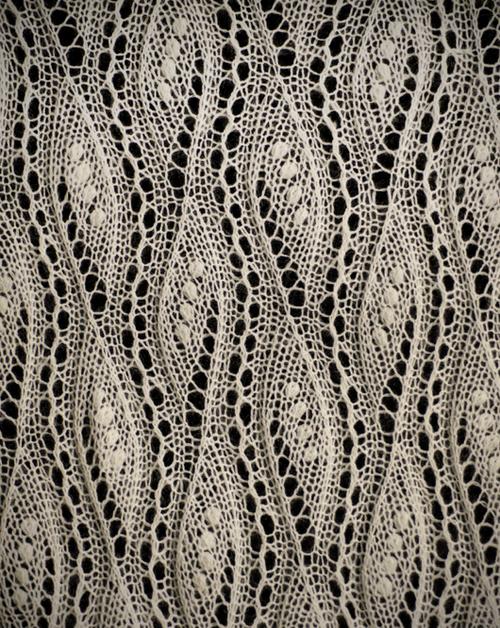 patternbase: Estonia knitted lace via lacebuttons.com