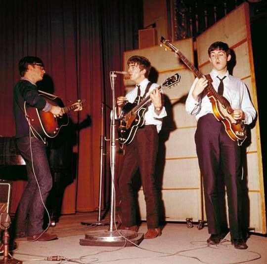 121 May 1963 Radio recording Playhouse Theatre, Northumberland Avenue, London.