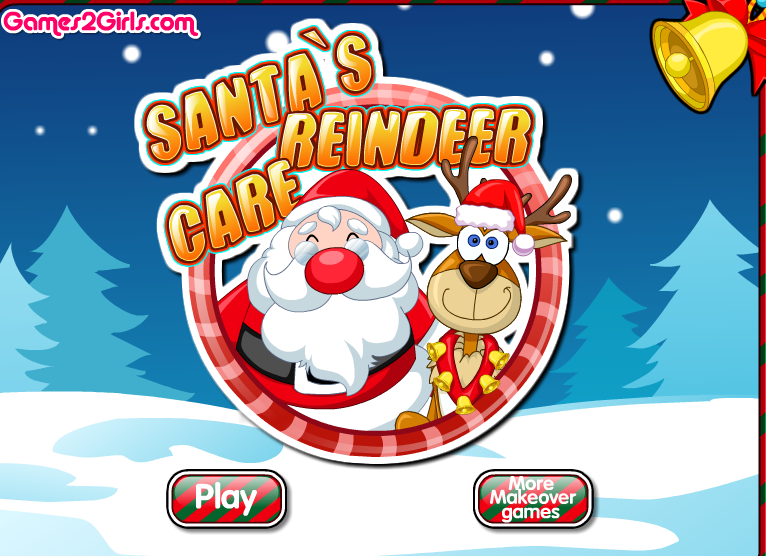Games For Girls Games2girls Games 2 Girls Update New Games Http Www Games2girls2 Com Games Santas Reindeer Care Free Online Games Games For Girls Up Game