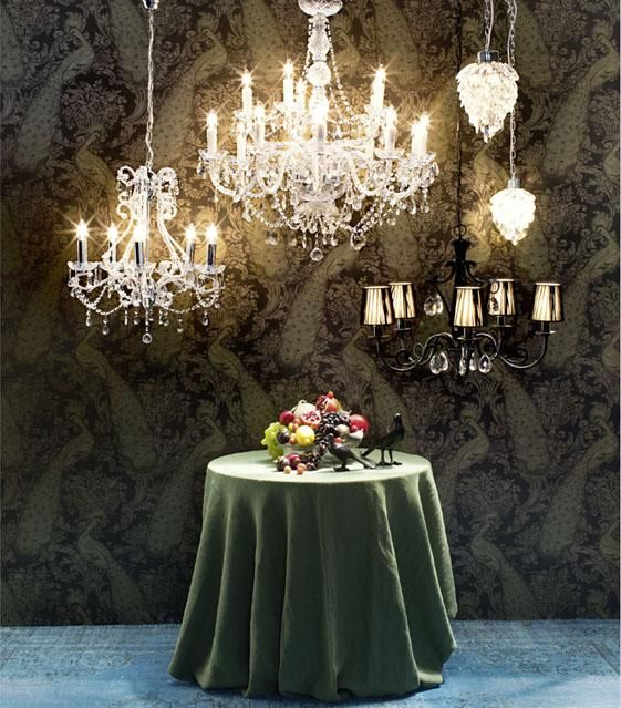 Lamps, Bohemian style by Pfister