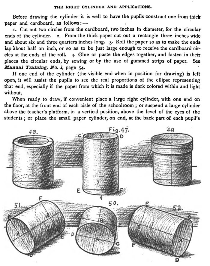 Drawing and Shading Cylinders