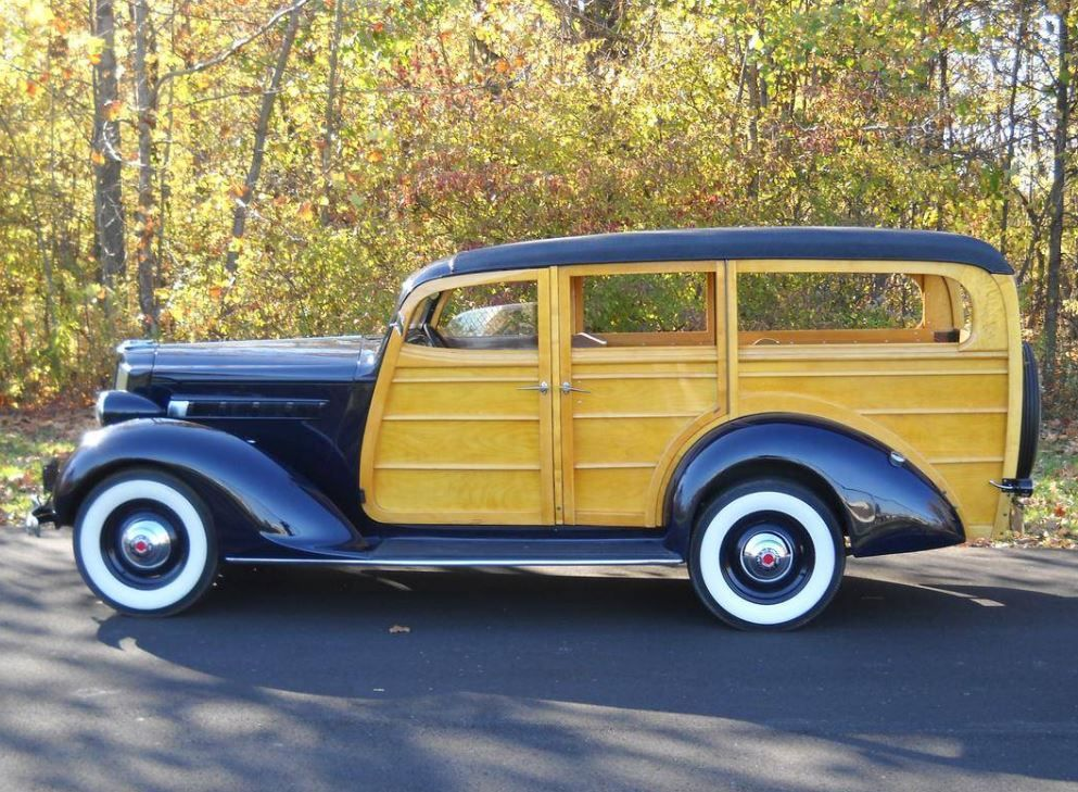 One of Three Left: 1937 Packard 115C Station Wagon Prototype
