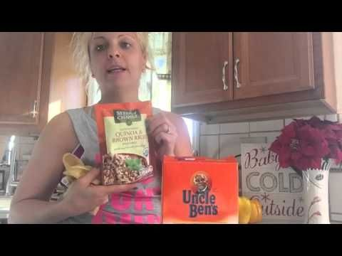 How To Make Stuffed Peppers 21 Day Fix - YouTube