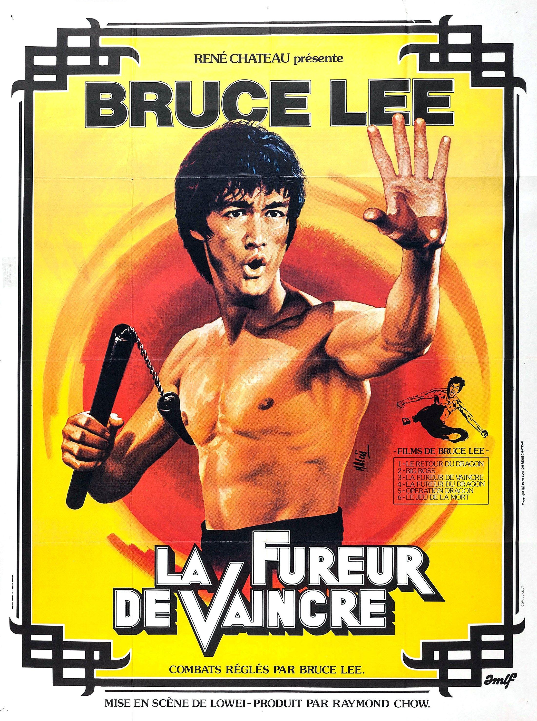 La Fureur De Vaincre Bruce Lee Carteles De Peliculas Leer