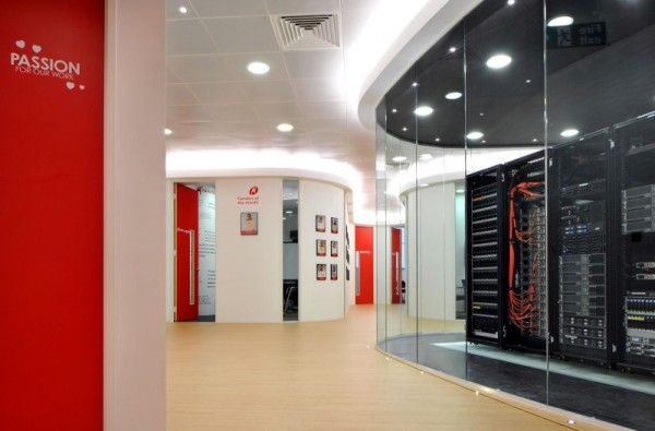 red white black office space - Google Search   work office space ...