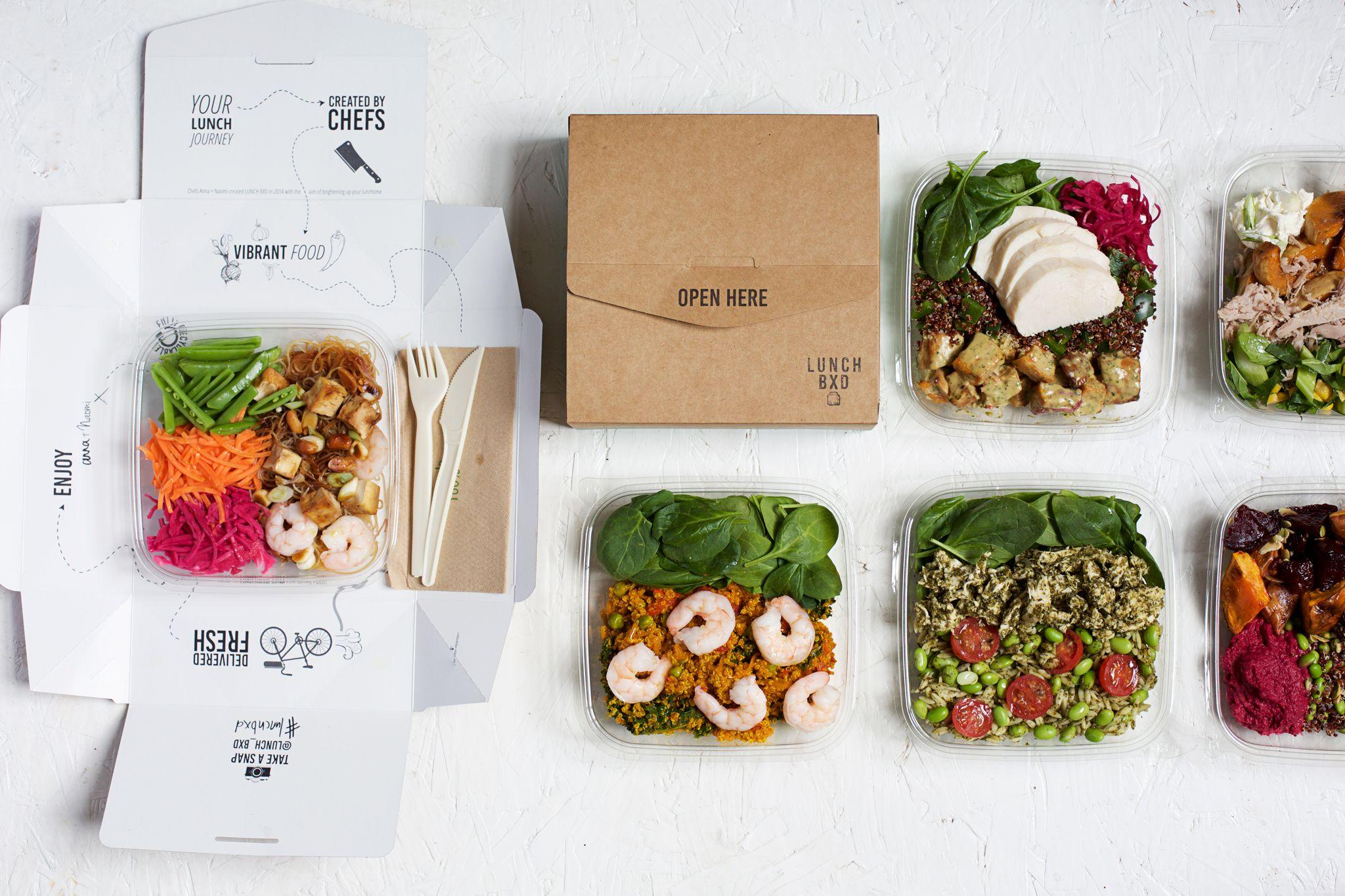 Office Lunch Box Food Delivery London Lunch Bxd Plateau Repas Repas Traiteur