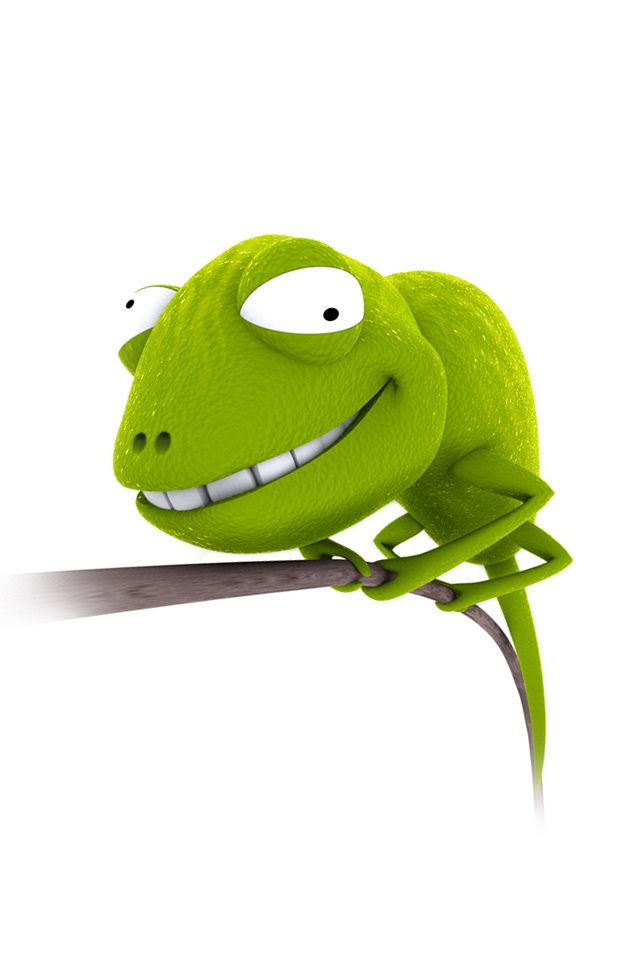 Download Funny Chameleon Cartoon Iphone Wallpaper Cartoon Animals Funny Cartoon Pictures Funny Cartoon Images