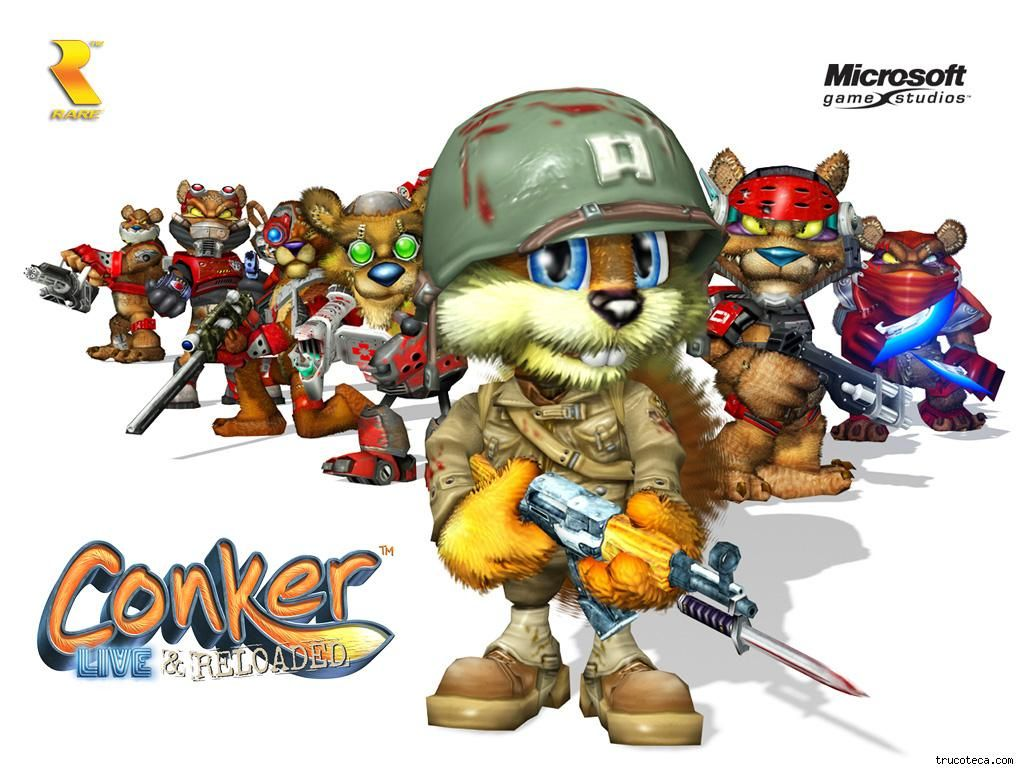 Conker Live And Reloaded Conker Live And Reloaded Conkers Conker S Bad Fur Day