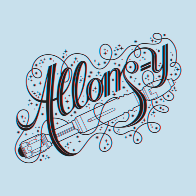 Check out this awesome 'Allons-y%21+3D' design on TeePublic! http://tee.pub/lic/NqcJQb2YS5Y