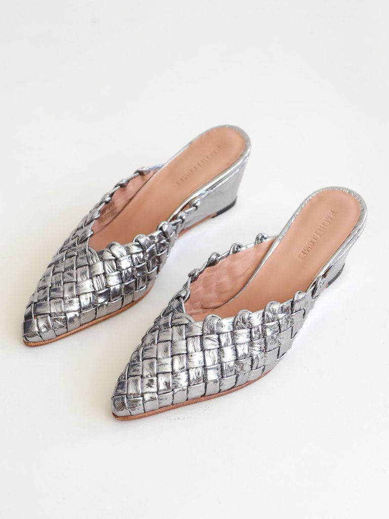 Rachel Comey Woven Peep-Toe Mules clearance footlocker hot sale UHHxzervP