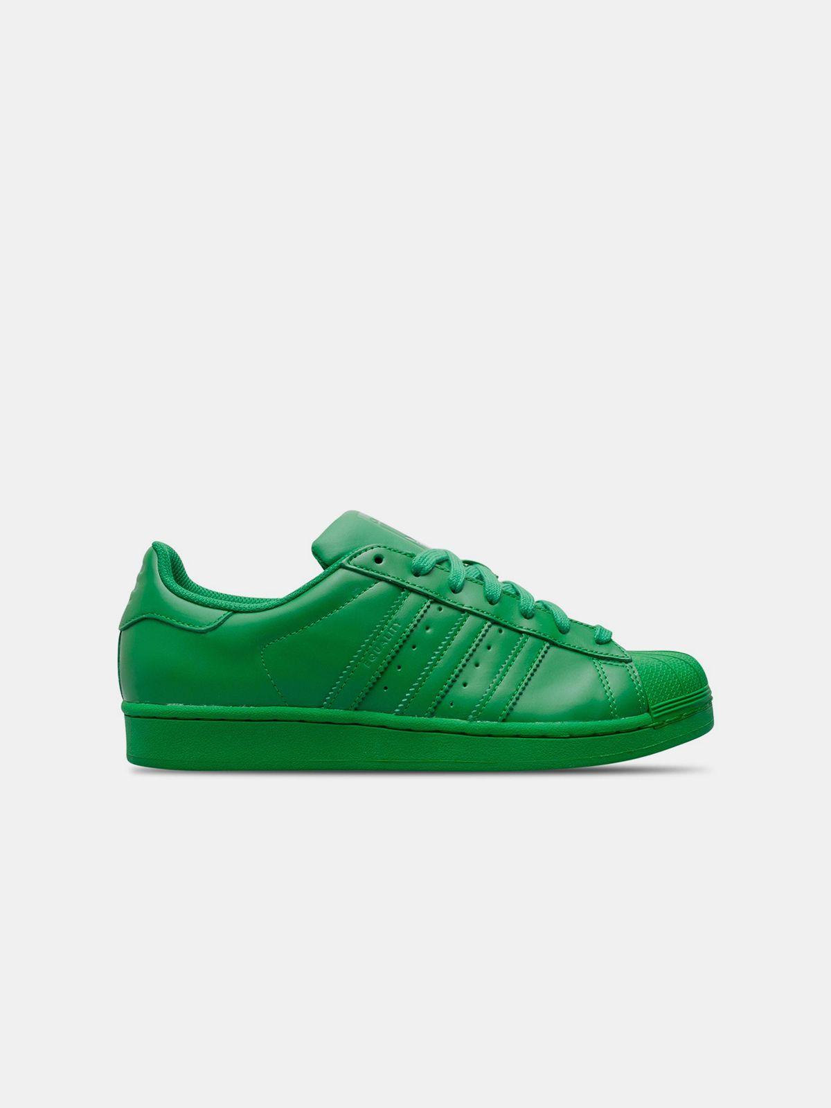 ADIDAS X PHARRELL , Erkek shopigo Superstar Supercolor Verde shopigo Erkek 239c95