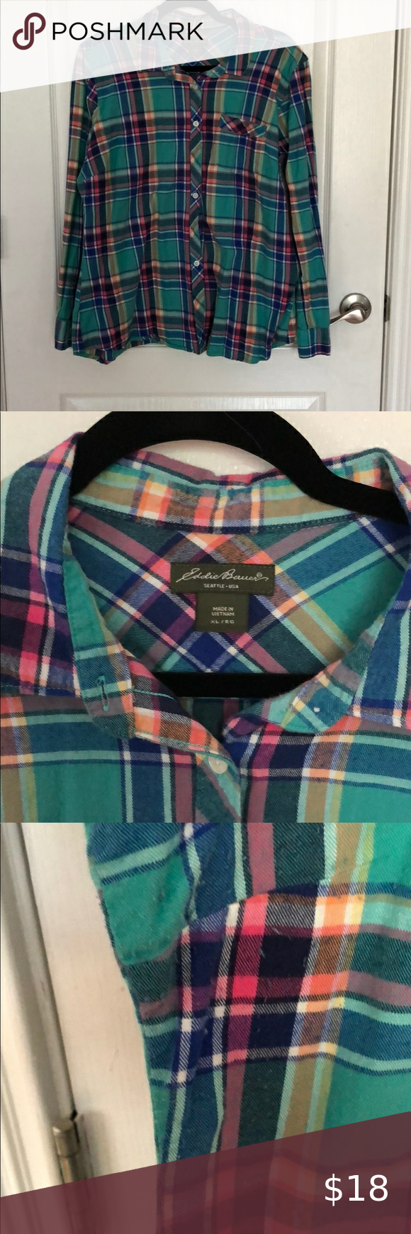 Eddie Bauer Summer Plaid in 2020 Summer plaid, Plaid