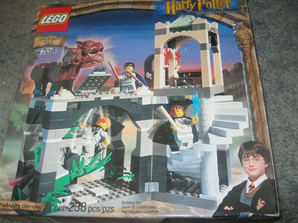 Harry Potter 4706 Forbidden Corridor Complete Lego Set Lego Harry Potter Dobby Harry Potter