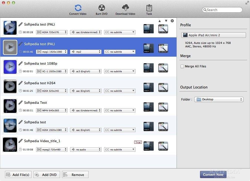 Any Video Converter Pro 7.1.6 for Mac 破解版 操作简易的视频转换软件