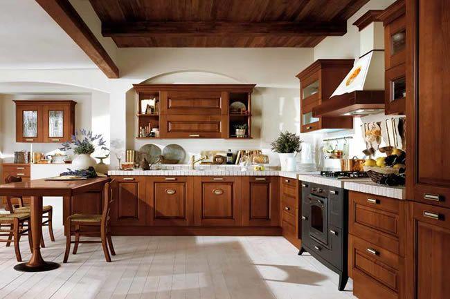 Cocinas clasicas cocinas italianas puertas y cocinas - Muebles de cocina albacete ...