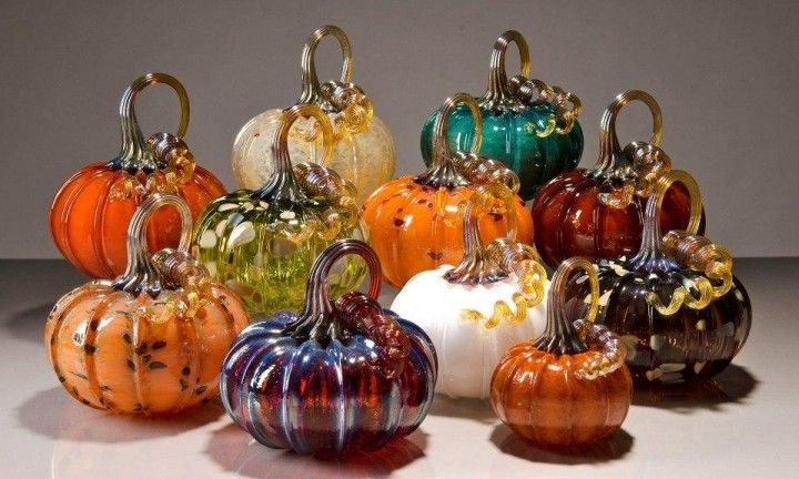 Make Your Own Hand Blown Glass Pumpkin Glass Pumpkins Glass