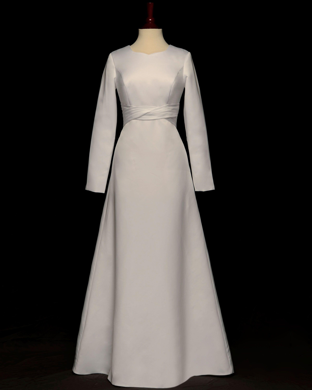 Possible temple dress | Vestidos de novia sud | Pinterest | Templo ...