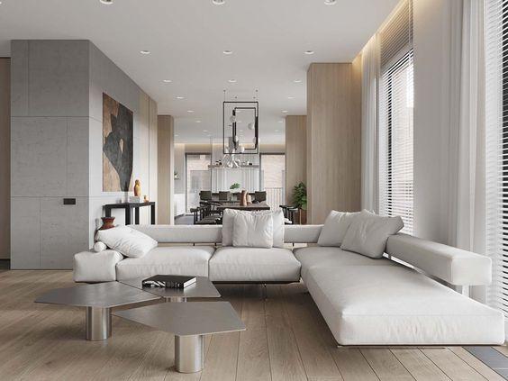 Idee per arredare un soggiorno moderno | Complementi arredi ...