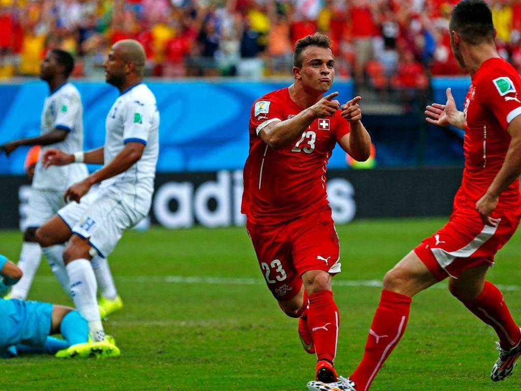 Suiza goleó a Honduras con 'Hat-Trick' de Shaqiri