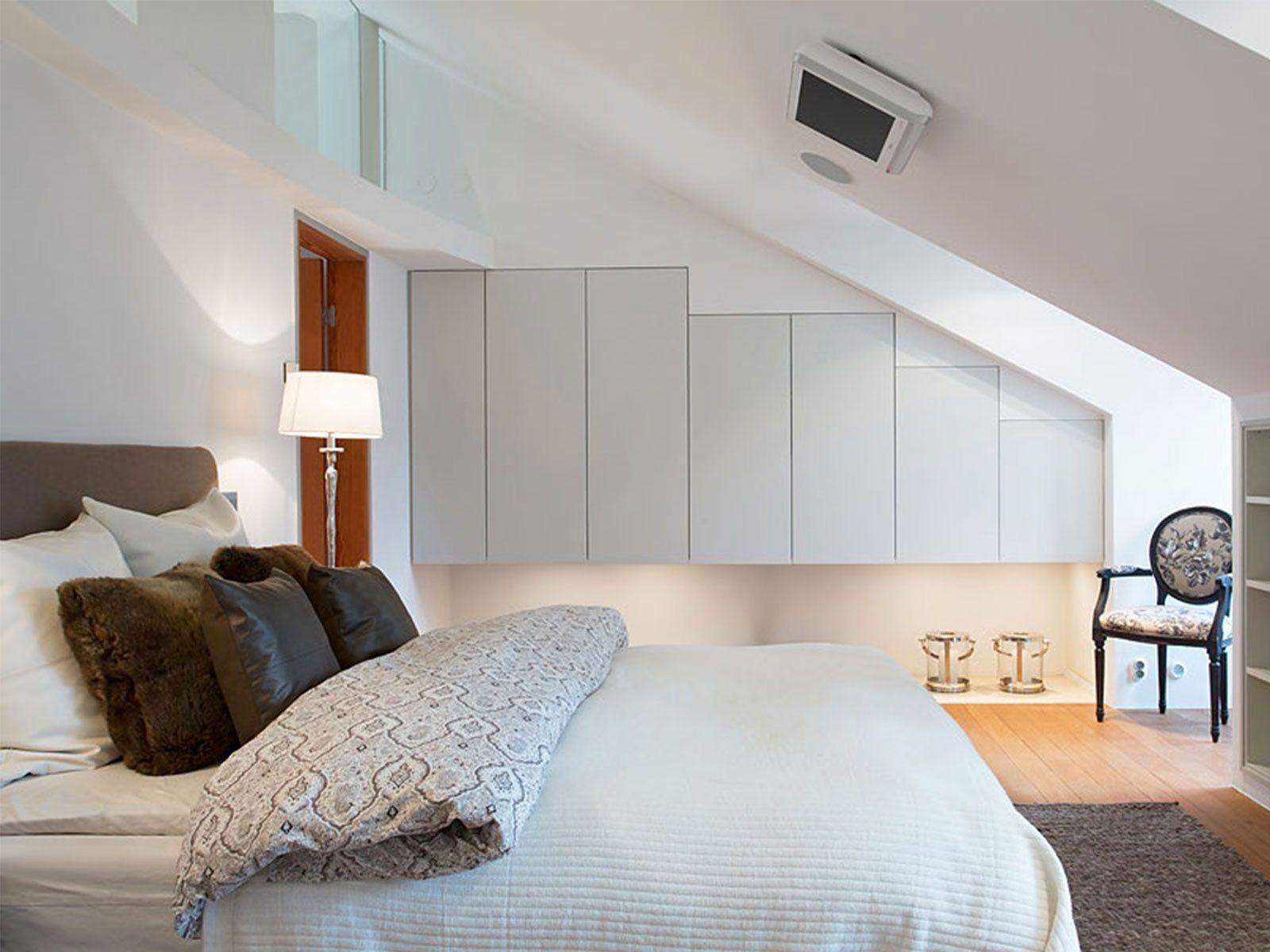 Schlafzimmer Ideen Dachschräge - #dachschrage #ideen #Schlafzimmer