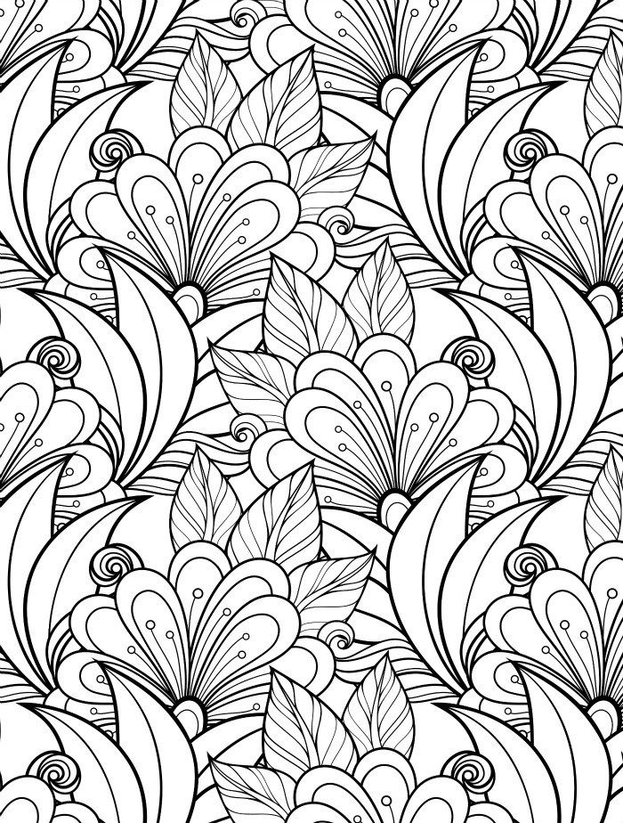 24 More Free Printable Adult Coloring Pages - Page 7 of 25 ...