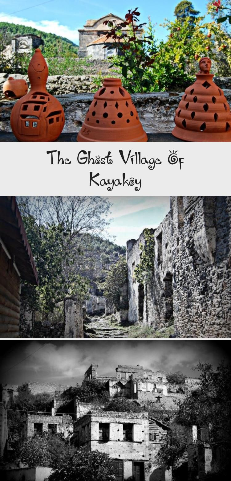 Photo of Kayakoy ghost village lies a short distance from the bustling and popular resort…