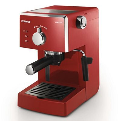 Philips Philips Red Saeco Poemia Coffee Machine Hd832398