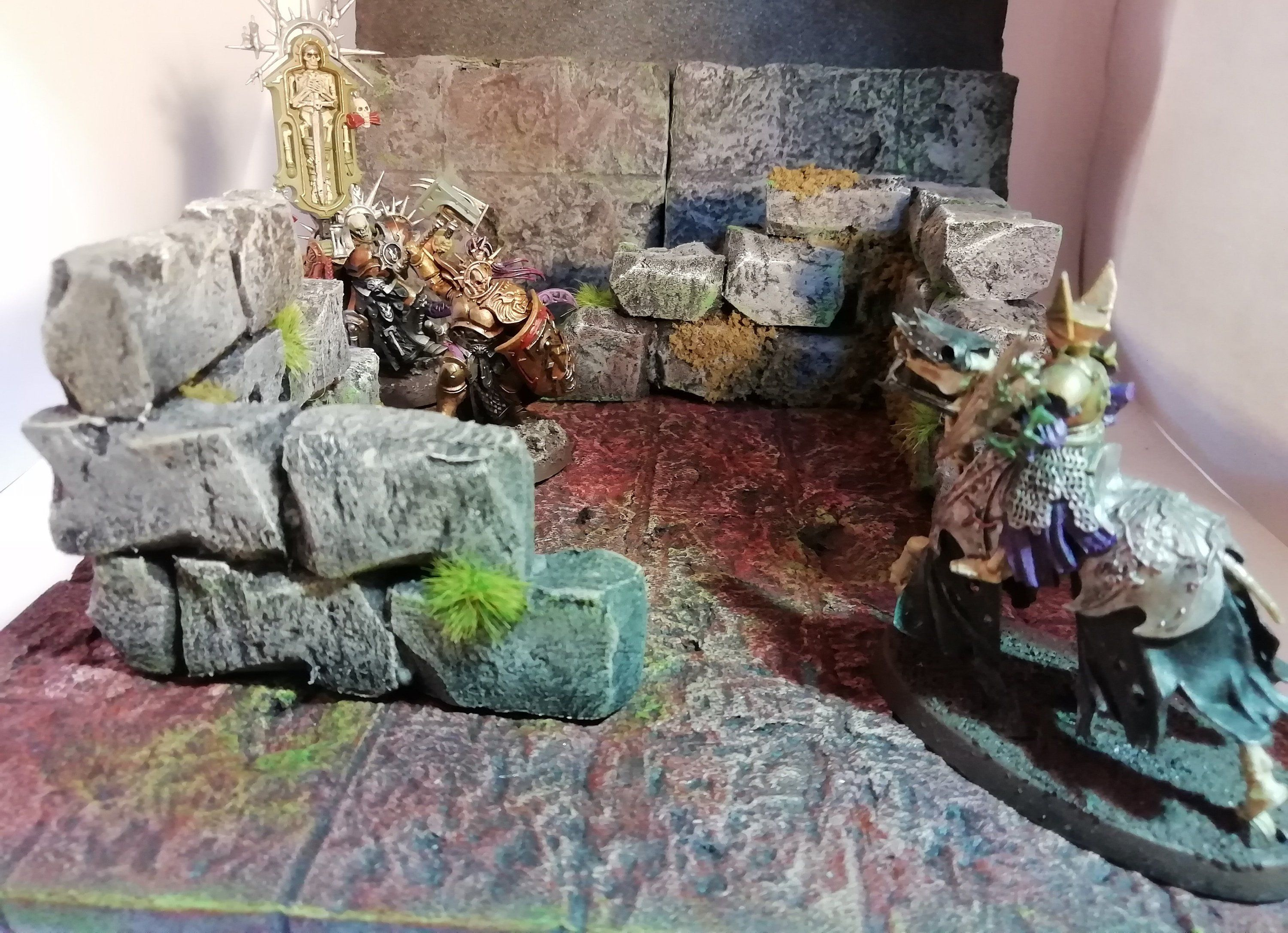 Rock scenery sets Warhammer, Dungeons and Dragons, Age of Sigmar, Pathfinder