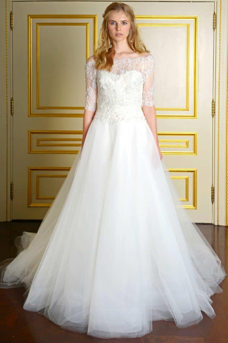 Elite wedding dresses   Perfect Gowns From Bridal Fashion Week  Bridal  Pinterest
