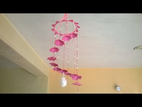 DIY wall hanging decor from old waste bangles | wall decor | Best ...