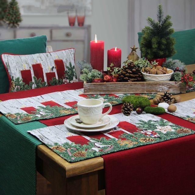 Tischsets weihnachten advent pinterest weihnachten tischdeko weihnachten und gem tliche - Tischdeko advent ...