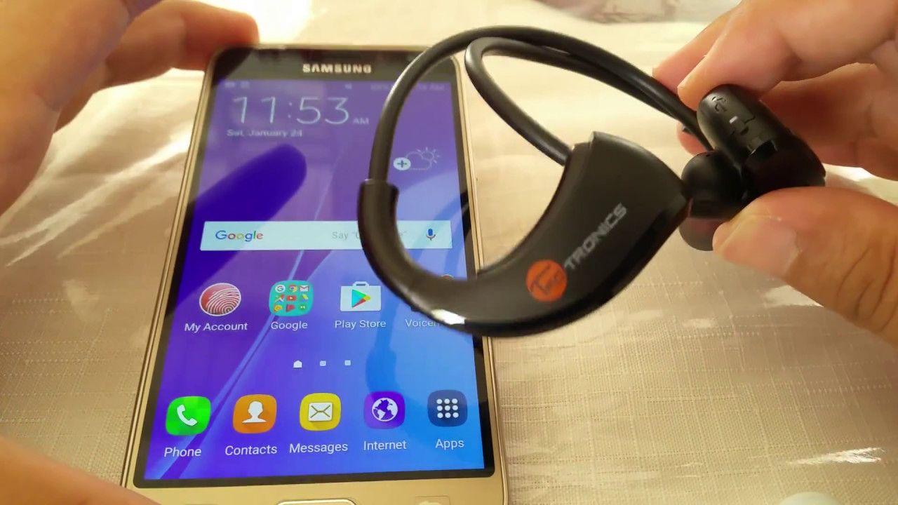 How To Pair Taotronics Bluetooth Headphones To Samsung J3 Bluetooth Headphones Samsung J3 Samsung