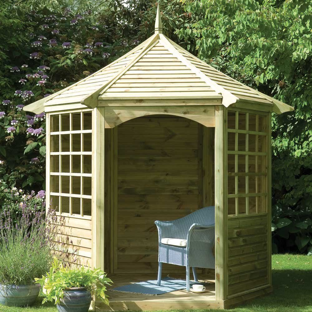 hexagonal arbour - Google Search