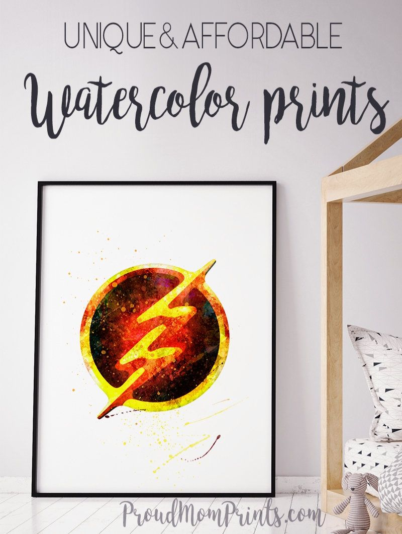 Barry Allen The Flash Poster The Flash Dc Comics Dc Comics Arrow Barry Allen The Flash Poster Superhero Wall Art Poster Prints