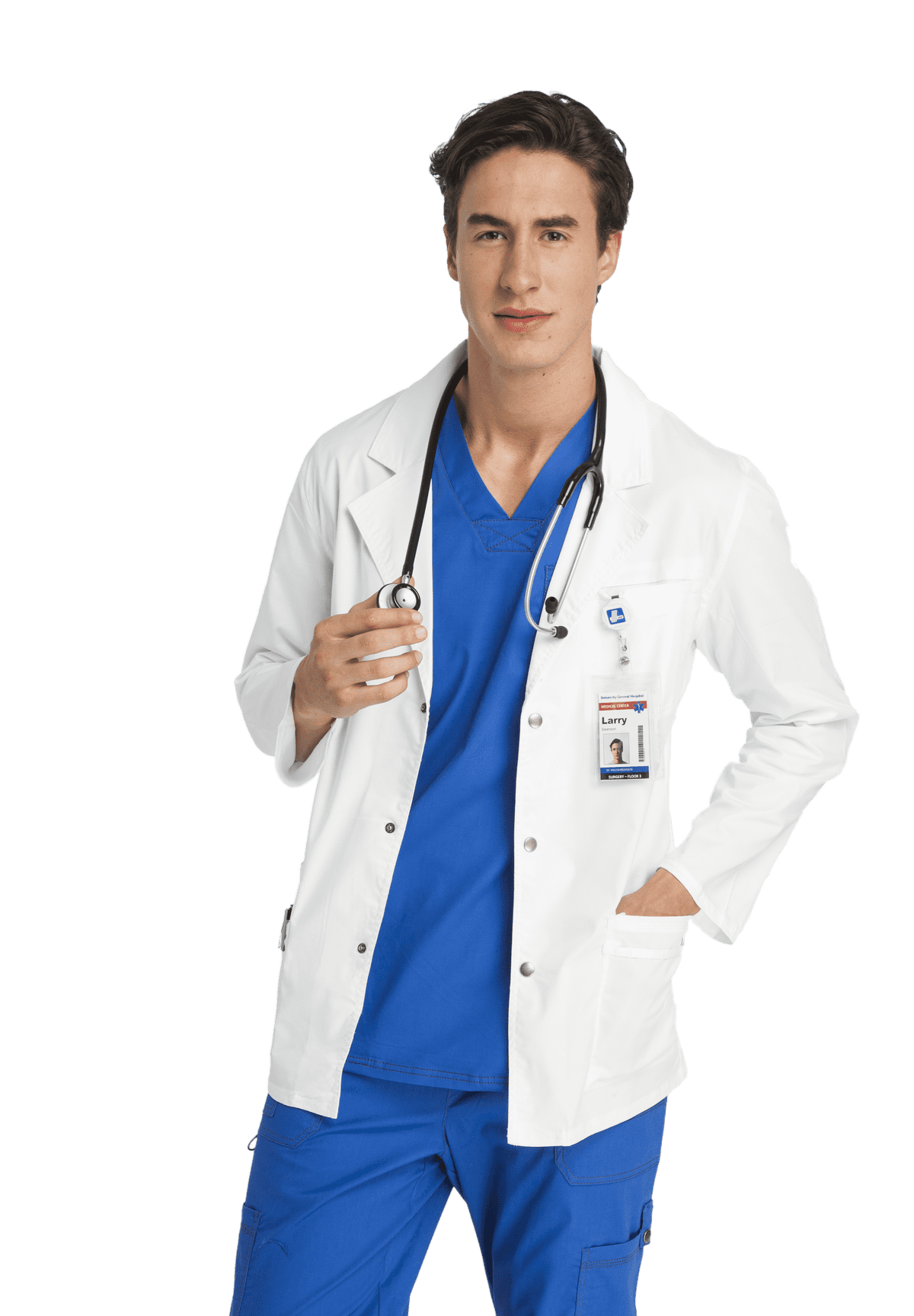 Young Doctor Medical Uniform Png Doctor Outfit Doctor Dress Medical Outfit