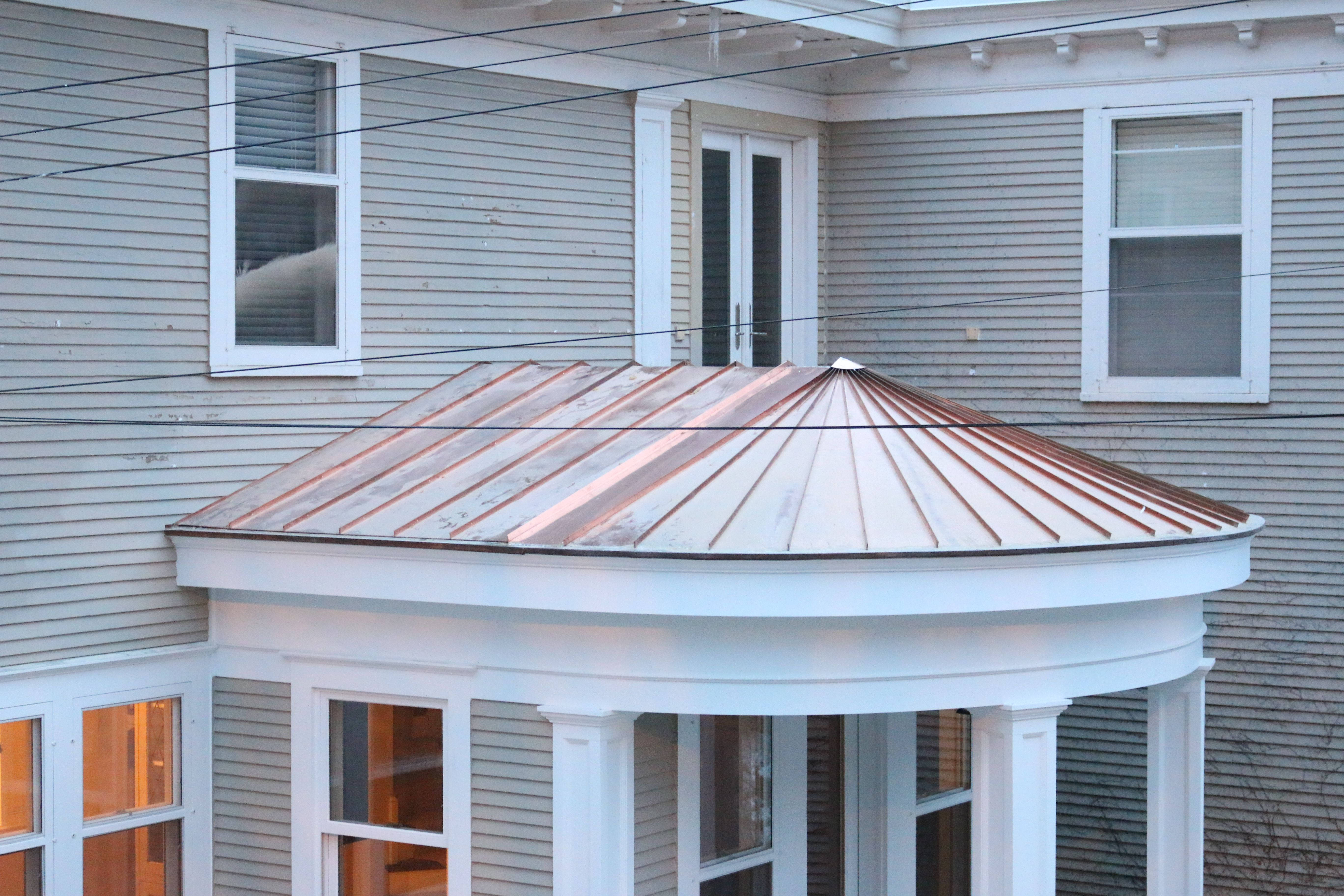 Pin By Olson Sheet Metal Works On Copper Roofs With Images Copper Roof Outdoor Structures Gazebo